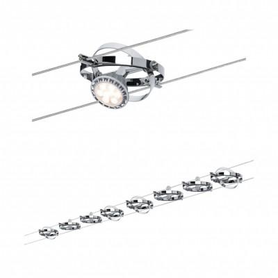 Струнные светильники CARDAN 8x10W GU5,3 хром