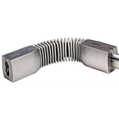 Коннектор гибкий шине EASYTEC серебристый SLV