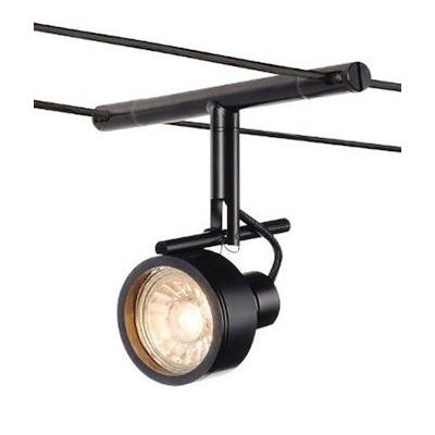Светильник струнный SALUNA GU5.3 черный SLV