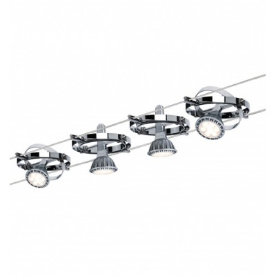 Струнные светильники CARDAN хром
