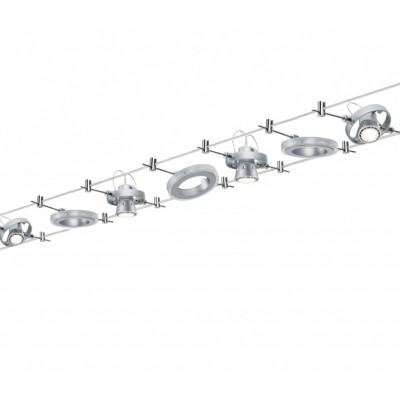 Струнные светодиодные светильники HALOLED хром матовый