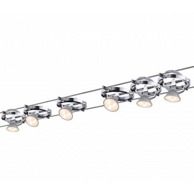Струнные светодиодные светильники CARDAN LED 6x4w