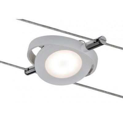 Светильник для струнной системы Paulmann LED SPOT ROUNDMAC 1X4W белый
