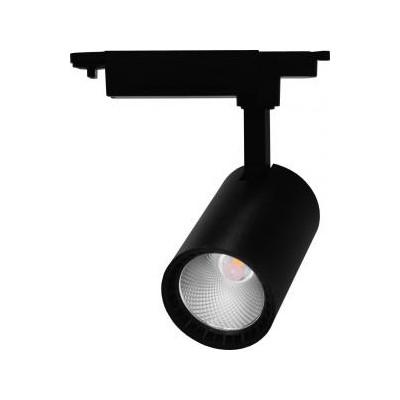 Трековый светодиодный светильник 12Вт 4000К 60град черный