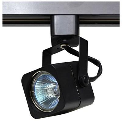 Трековый светильник под лампу GU5.3 черный