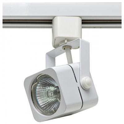 Трековый светильник под лампу GU5.3 белый