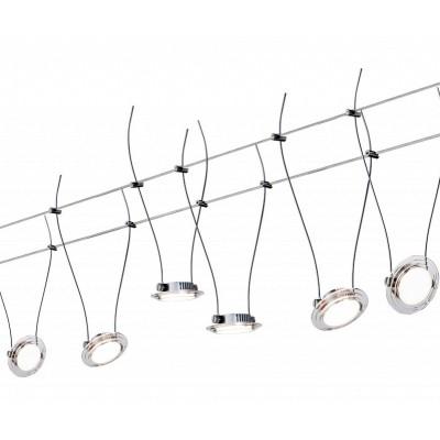 Струнные светодиодные светильники LED TWIST COIN 6x4w