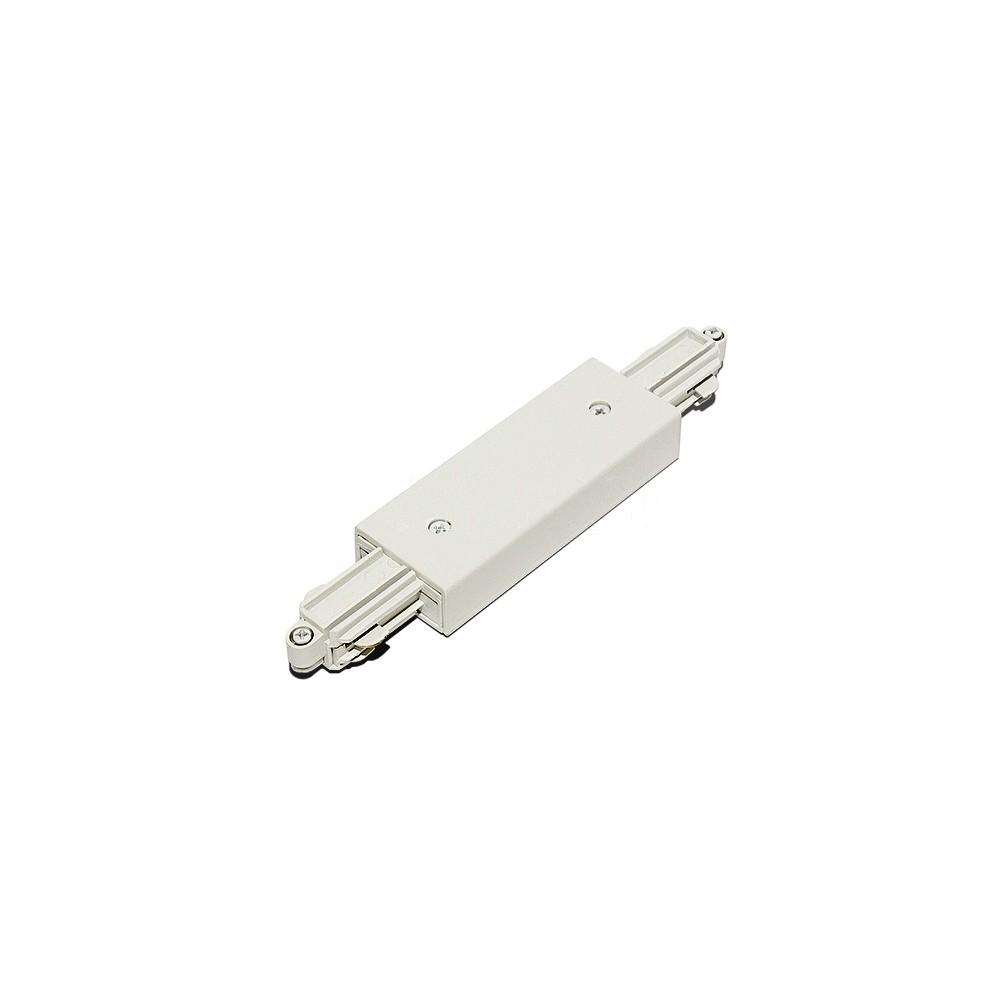 3L соединитель с подводом питания прямой 3-линейный белый Raumberg