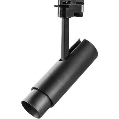 Светодиодный светильник для 1-фазного трека 15w черный 4000к 5-60 грд.