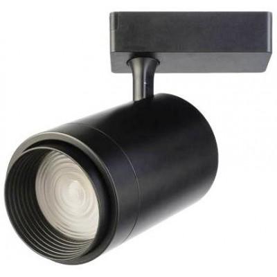 Трековый светодиодный LED светильник 30Вт 4200K регулируемый угол 15-60 град. черный