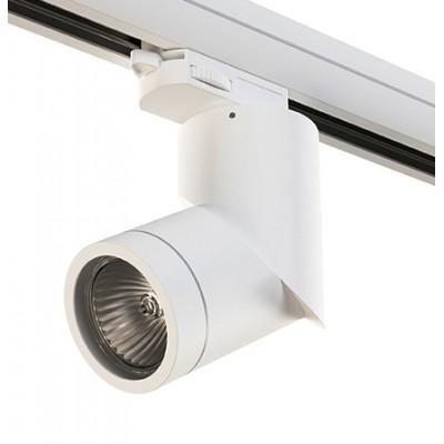 Трековый светильник на шинопровод 4TRA под лампу GU10 ILLUMO белый