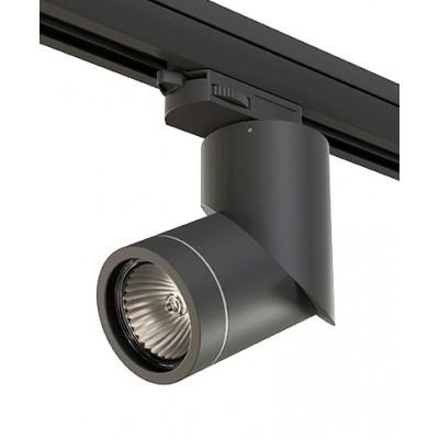 Трековый светильник на шинопровод 4TRA под лампу GU10 ILLUMO черный