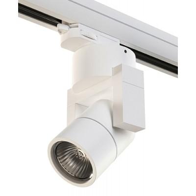 Трековый светильник на шинопровод 4TRA под лампу GU10 ILLUMO L1 белый