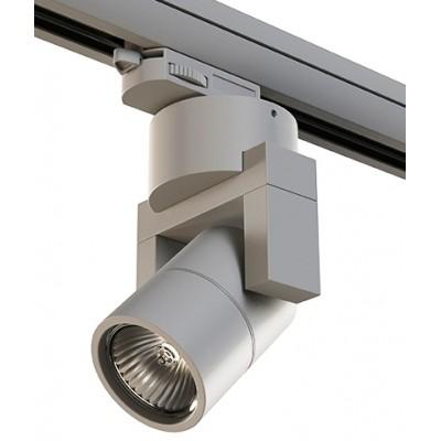Трековый светильник на шинопровод 4TRA под лампу GU10 ILLUMO L1 серый