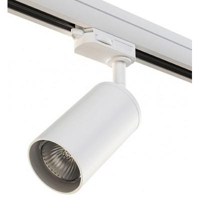 Трековый светильник на шинопровод 4TRA под лампу GU10 RULLO белый