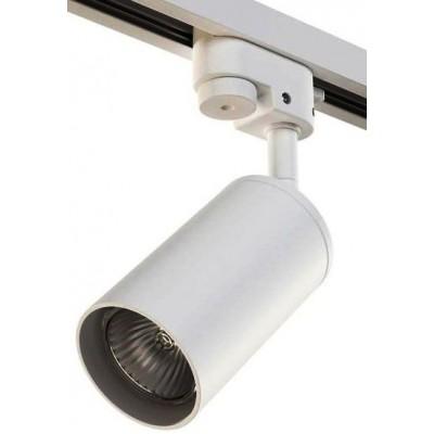 Трековый светильник на шинопровод 2TRA под лампу GU10 RULLO белый