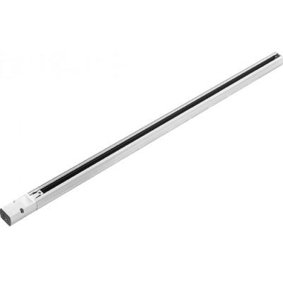 Шинопровод трехфазный 4TRA 3м белый включает токоподвод и заглушку