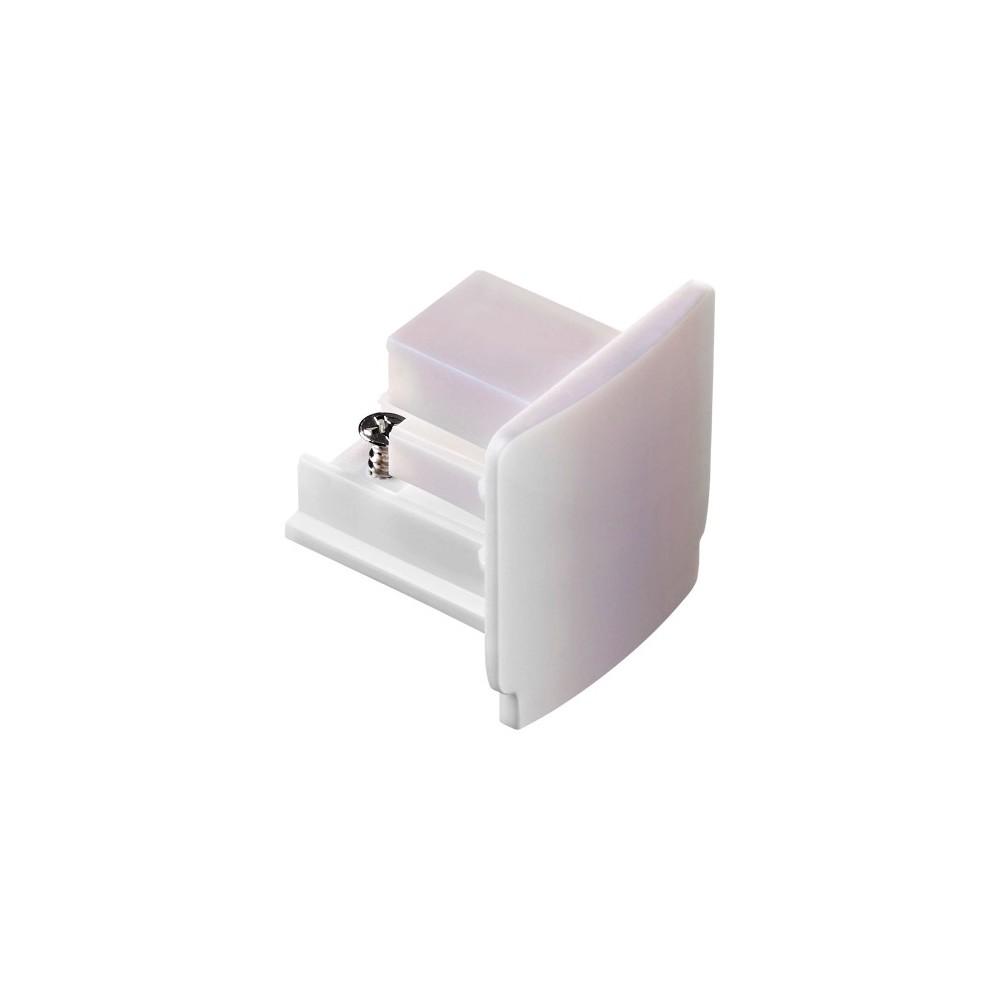 Заглушка торцевая для трехфазного шинопровода белый