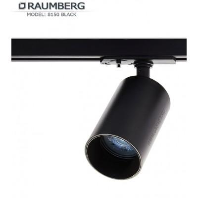 Трековый светильник для шины 3L RAUMBERG R-8150 GU10 Черный корпус