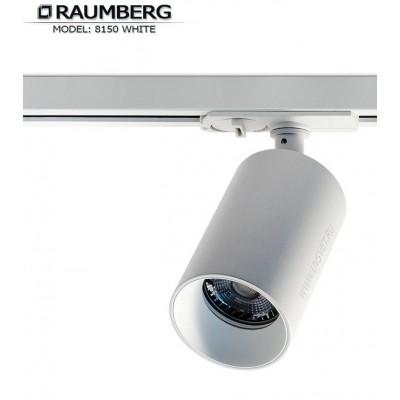 Трековый светильник для шины 3L RAUMBERG R-8150 GU10 Белый корпус