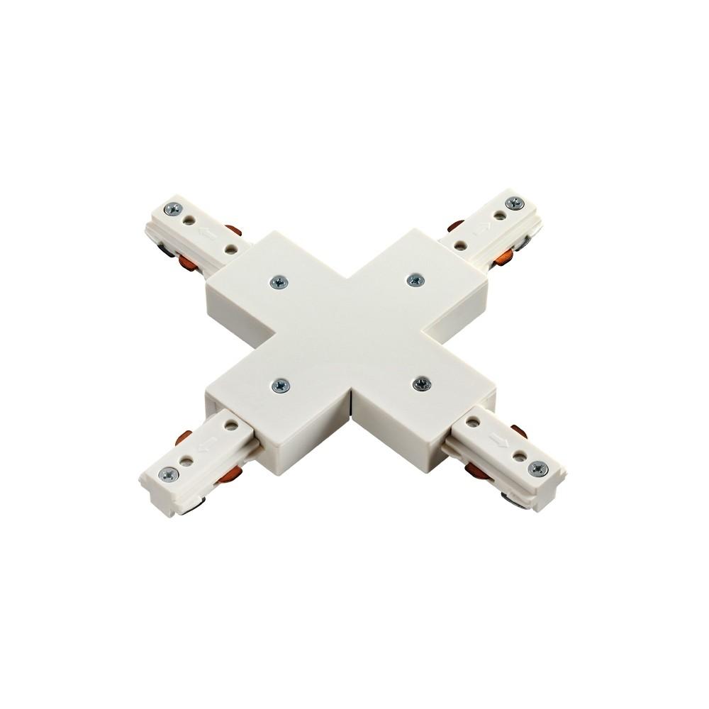 3L X соединитель с подводим питания 3-линейный белый