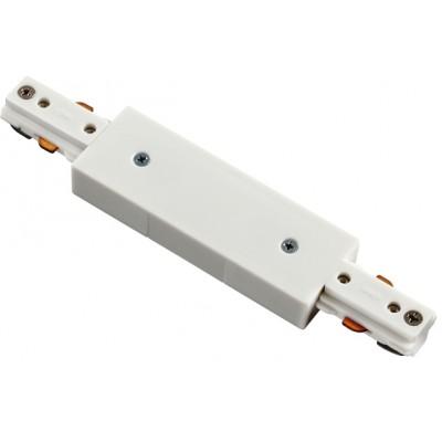 3L соединитель прямой с подводом питания цвет белый