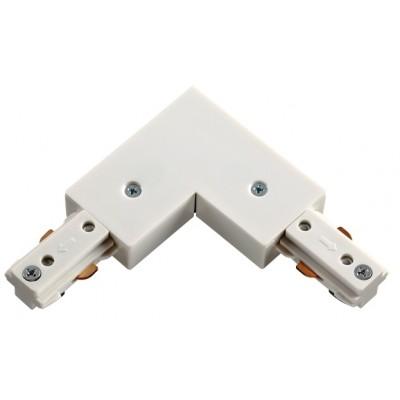 3L Соединитель 90град с подводом питания для шинопровода цвет белый