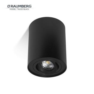 Светильник накладной поворотный RAUMBERG TAUSS (HDL-5600) GU10 Черный корпус