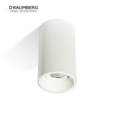 Светильник накладной светодиодный RAUMBERG XD 2020 Белый 7вт 2700к