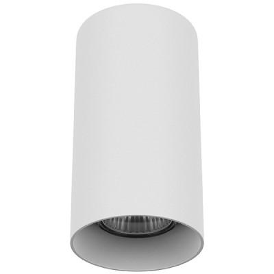 Накладной светильник RULLO D80 GU10 БЕЛЫЙ