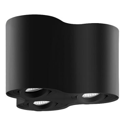 Накладной светильник BINOCO TRIO HP16 GU10x3 черный