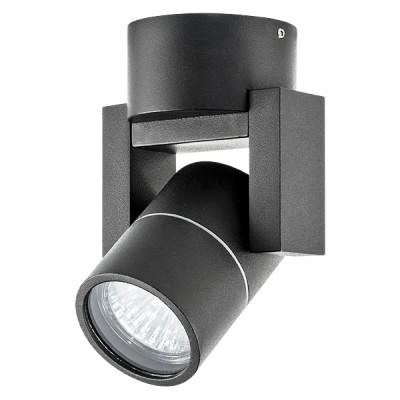 Накладной светильник влагозащищенный ILLUMO L1 GU10 черный