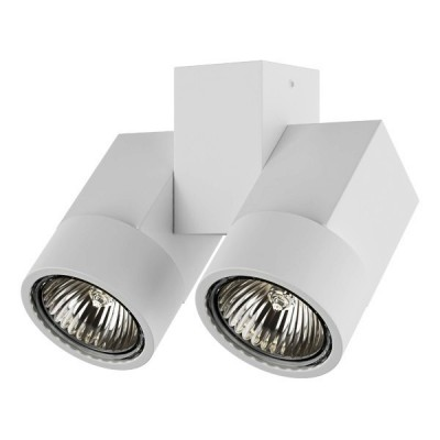 Накладной светильник ILLUMO GU10x2 белый