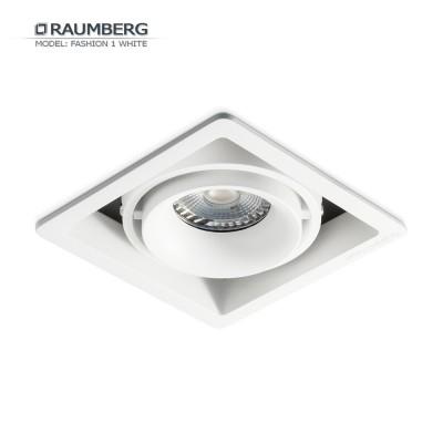 Светильник встраиваемый RAUMBERG FASHION 1 Белый-черный