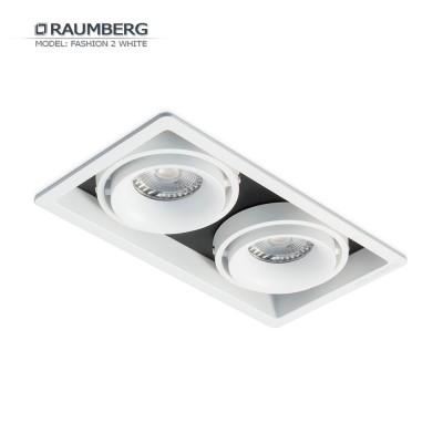 Светильник встраиваемый RAUMBERG FASHION 2 Белый-черный