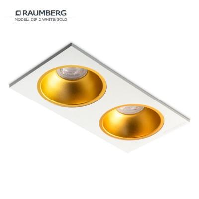 Светильник встраиваемый RAUMBERG DIP 2 White/Gold