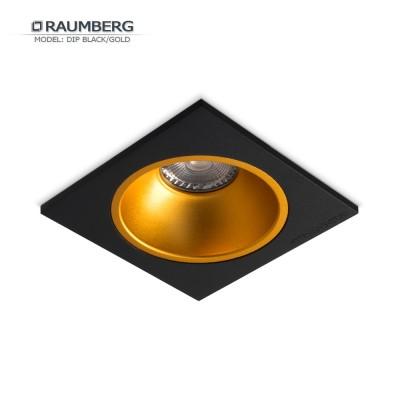 Светильник встраиваемый RAUMBERG DIP 1 Black/Gold