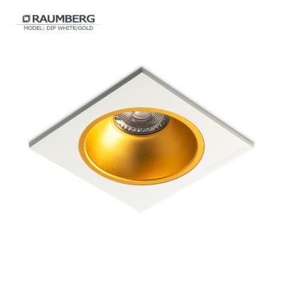 Светильник встраиваемый RAUMBERG DIP 1 White/Gold