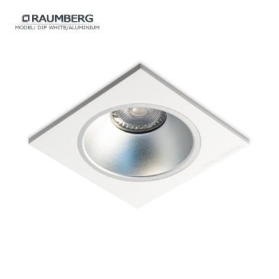 Светильник встраиваемый RAUMBERG DIP 1 White/Aluminium