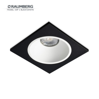 Светильник встраиваемый RAUMBERG DIP 1 Black/White