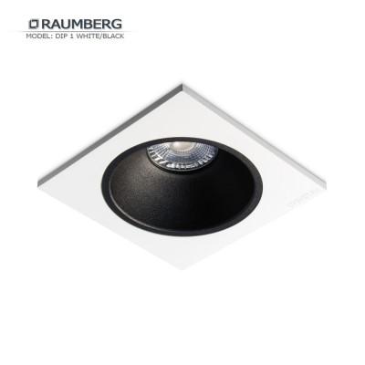 Светильник встраиваемый RAUMBERG DIP 1 Белый/черный