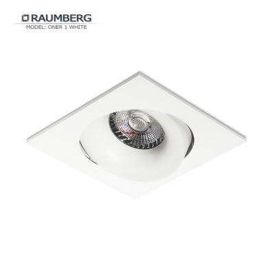 Светильник встраиваемый RAUMBERG DE-201 ONER 1 Белый