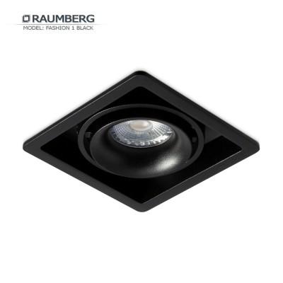 Светильник встраиваемый RAUMBERG FASHION 1 черный