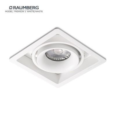 Светильник встраиваемый RAUMBERG FASHION 1 белый