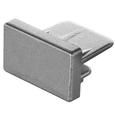 Заглушка торцевая для однофазного шинопровода серый