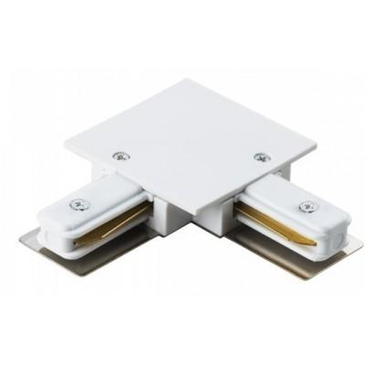 Угловой соединитель для однофазного встраиваемого шинопровода 2Line белый