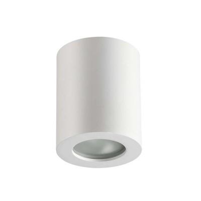 Потолочный накладной влагозащищенный светильник GU10 AQUANA IP44 белый