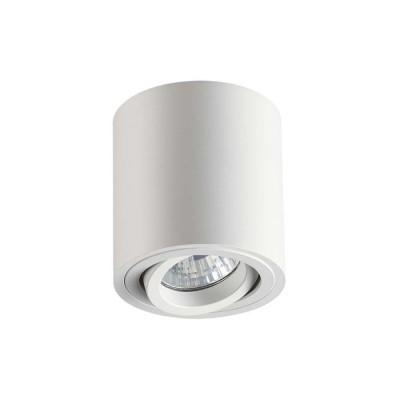 Потолочный накладной светильник GU10 TUBORINO белый