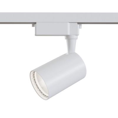Трековый однофазный светодиодный светильник 6w 4000к цвет Белый