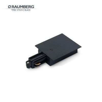 3L Коннектор с подводом питания для трека RAUMBERG черный